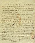 Legal Indenture John Bergen to Peter Kean, March 18, 1811 by John Bergen