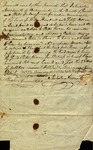 Legal Indenture of Nicholas Arrowsmith to Peter Kean, October 23, 1811 by Nicholas Arrowsmith