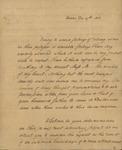 Peter Kean to Sarah Sabina Morris, December 27, 1812