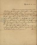Anna Rutherford to Sarah Sabina Morris, January 20, 1813