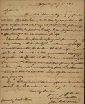John Rutherford to Jacob Morris and Sarah Sabina Morris, January, 1813 by John Rutherford