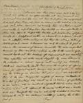 Thomas S. Grimke to Peter Kean, March 9, 1813 by Thomas S. Grimke
