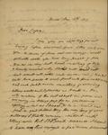 Peter Kean to Isaac Cooper, May 13, 1813 by Peter Philip James Kean