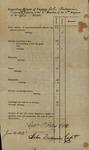 Inspection Return of Captain John Baldwin, June 14, 1813