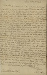 Peter Kean to Charles Ludlow, October 28. 1813