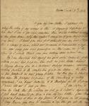 Sarah Sabina Kean and Peter Kean to Lewis Lee Morris, December 9, 1813 by Sarah Sabina Kean and Peter Philip James Kean