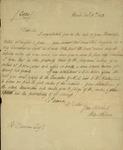 Peter Kean to Richard Duncan, December 11, 1813 by Peter Philip James Kean