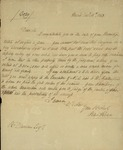 Peter Kean to Richard Duncan, December 11, 1813