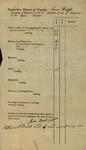 Inspection Return of Captain Almer Dodd, 1813