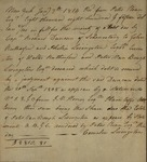 Cornelia Livingston with Richard Duncan, January 7, 1814