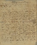 G. Marolles to Peter Kean, March 10, 1814 by G. Morolles