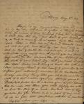 Frances Sutherland to Sarah Kean, May 8, 1814 by Frances Sutherland
