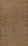 Sarah Sabina Kean to Peter Kean, August 9, 1815