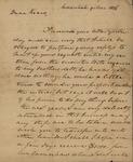 Richard W. Habersham to Peter Kean, March 9, 1816 by Richard W. Habersham