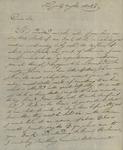 G. Marolles to Peter Kean, May 14, 1816 by G. Marolles