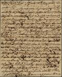 N. Bayard to Peter Kean, May 15, 1816