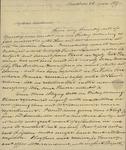 Mr. Bradish to Sarah Sabina Kean, April 28, 1817 by Bradish