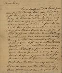 Richard W. Habersham to Peter Kean, May 14, 1817