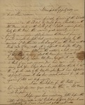 John G.  Barnwell to Peter Kean, July 31, 1817