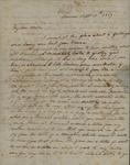 Peter Van Brugh Livinston to Peter Kean, September 15, 1817 by Peter Van Brugh Livingston II