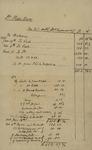 Peter Kean with Susan Niemcewicz Statement of Estate, March 3, 1818 by Peter Philip James Kean