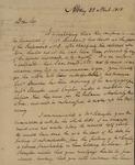 John V. Henry to Peter Kean, April 23, 1818 by John V. Henry