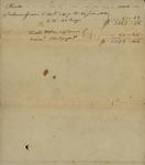Peter Kean to Jonas Wade, June 27, 1818 by Peter Philip James Kean