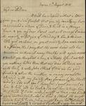 Susan Ursin Niemcewicz to Sarah Kean, August 13, 1818 by Susan Ursin Niemcewicz