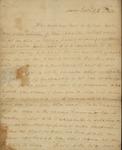 Sarah Sabina Kean To John Cox Morris, November 23, 1818