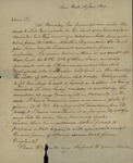 Peter Augustus Jay to Peter Kean, January 18,1819 by Peter Augustus Jay