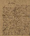 Henry Gahn to Susan Ursin Niemcewicz, August 18, 1819 by Henry Gahn