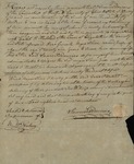Bill of Sale from Samuel Downer to Caleb Ogden Halsted, May 19, 1817