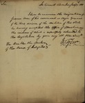John Tyler to James Barbour, January 9, 1811