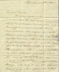 Christine Biddle to Susan Ursin Niemcewicz, March 12, 1820
