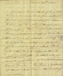 Christine Biddle to Susan Ursin Niemcewicz, March 24, 1820