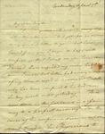 Christine Biddle to Susan Ursin Niemcewicz, April 5, 1820
