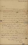 Thomas Slater to General Jacob Morris, October 3, 1828 by Thomas Slater and J.C. Pearson