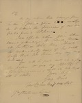 George Wood to John J. Chetwood, October 7, 1828