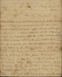 Sarah Sabina Kean to Jacob Morris, December 2, 1828 by Sarah Sabina Kean
