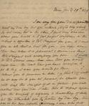 Sarah Sabina Kean and Julia Ursin Niemcewicz Kean to John Kean, January 29, 1829