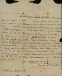 Sarah Sabina Kean to John Kean, April 11, 1829