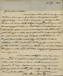 John Kean to Susan Ursin Niemcewicz, April 14, 1829 by John Kean