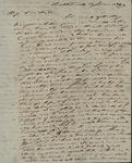 John Cox Morris to Sarah Sabina Baker, June 11, 1829 by John Cox Morris