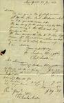 Charles Austin and Jackson H. Baggatt to Susan Ursin Niemcewicz and Peter Kean, June 23, 1820