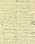 Christine Biddle  to Susan Ursin Niemcewicz, August 11, 1820