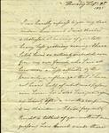 Christine Biddle to Susan Ursin Niemcewicz, February 9, 1825