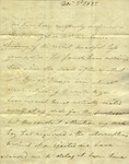 Christine Biddle to Susan Ursin Niemcewicz, November 30, 1825
