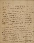 Peter Kean to John Kean, January 10, 1825 or 1826 by Peter Philip James Kean