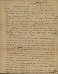 Peter Kean to Mary Morris, February 3, 1820