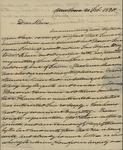 Bradish to Peter Kean, February 21, 1820